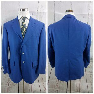 Mark, Fore & Strike Suits & Blazers - Mark, Fore & Strike 44R 3 Button Blue Suit Blazer